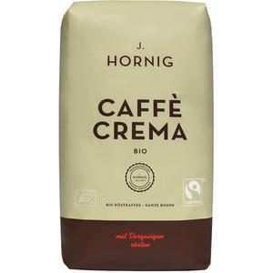 Fairtrade J. Hornig Bio Caffè Crema, Ganze Bohne