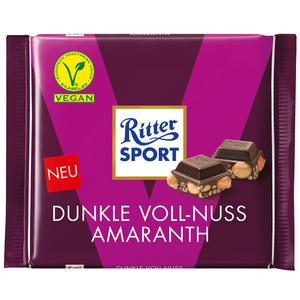 Ritter Sport Vegan Voll-Nuss Amaranth