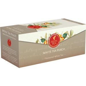 Julius Meinl Weißer Tee Pfirsich, Weißer Tee, Teebeutel im Kuvert