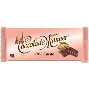 Manner Chocolade mit 70 % Cacao UTZ