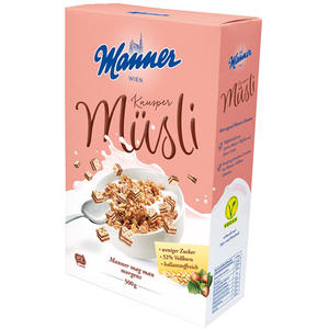 Manner Knusper Müsli UTZ