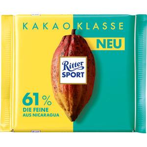 Ritter Sport Kakao-Klasse 61 % Die Feine aus Nicaragua