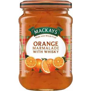 MacKays Orange Marmalade Whisky, Orangenmarmelade mit Whisky