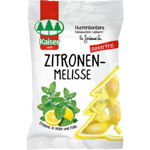 Kaiser Zitronenmelisse zuckerfrei, Hustenbonbons