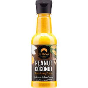 deSIAM Peanut Coconut Thai Satay Sauce, Erdnuss-Kokos-Sauce