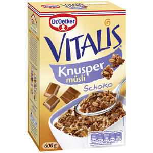 Dr. Oetker Vitalis Knusper Müsli Schoko