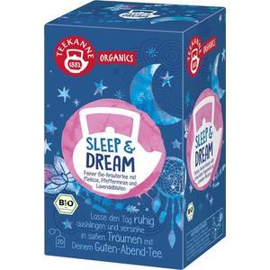 Teekanne Organics Sleep & Dream Bio-Kräutertee, Teebeutel im Kuvert