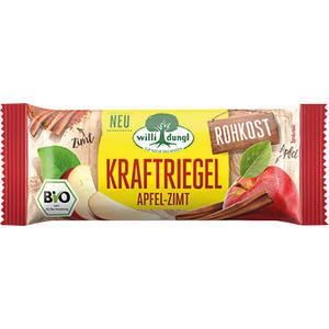 Willi Dungl Bio Kraftriegel Apfel-Zimt, Rohkostriegel