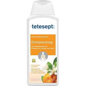 tetesept Gesundheits-Dusche Entspannung, mit Orangenöl, Orangenblüten- & Jasmin-Extrakt