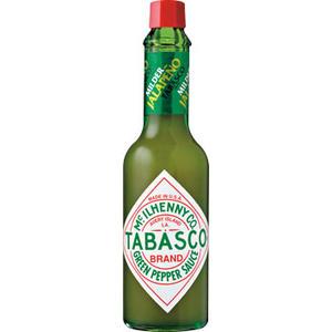 Tabasco Brand Green Pepper Sauce, mit Jalapenos