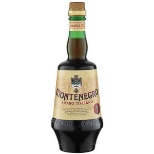 Amaro Montenegro, Italienischer Kräuterlikör, 23 % Vol.Alk.