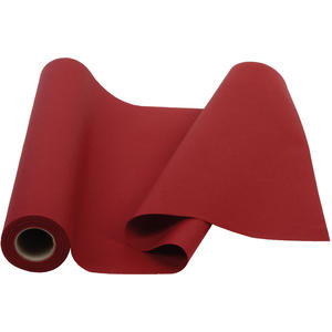 Papier-Tischtuchrolle BORDEAUX (perforiert als Tischläufer 40 x 120 cm)