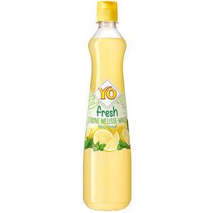 YO fresh Zitrone-Melisse-Minze-Fruchtsirup, PET