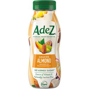 AdeZ Amazing Almond Mango & Passionfruit, Mandel/Mango/Passionsfrucht, ohne Zuckerzusatz, PET