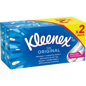 Kleenex Original Taschentücher-Duobox, 3-lagig