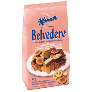 Manner Belvedere Gebäck- und Waffelmischung