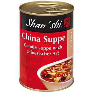 Shan'shi China-Suppe, Gemüsesuppe nach chinesischer Art