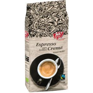 Fairtrade ja! Natürlich. Bio Espresso Crema, Ganze Bohne