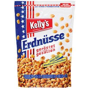 Kelly's Original Erdnüsse geröstet/gesalzen, wiederverschließbar
