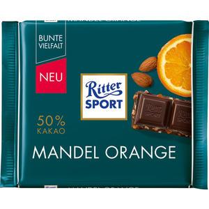 Ritter Sport Bunte Vielfalt Mandel-Orange