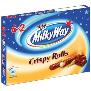 Milky Way Crispy Rolls, 6er Packung