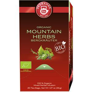 Teekanne Bio Bergkräuter, Kräutertee, Teebeutel im Kuvert