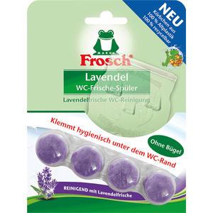 Frosch WC-Frische-Spüler Lavendel BIO, WC-Stein ohne Bügel