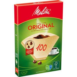 Melitta Filter 100 Original, naturbraun