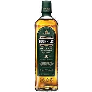 Bushmills 10 Years Old Single Malt Irish Whiskey, 40 % Vol.Alk., Irland, in Geschenkdose