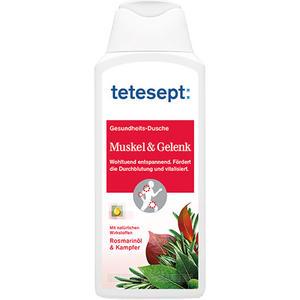 tetesept Gesundheits-Dusche Muskel & Gelenk, mit Rosmarinöl & Kampfer