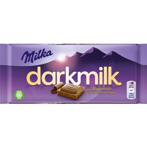 Milka darkmilk Alpenmilch