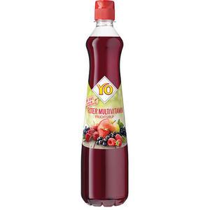 YO Klassik Roter Multivitamin-Fruchtsirup, PET