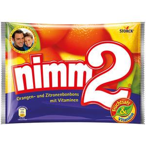 nimm2 Orangen- und Zitronenbonbons