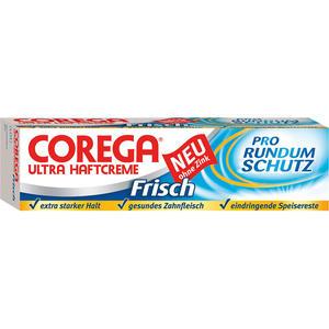 Corega Ultra Haftcreme Frisch, ohne Zink