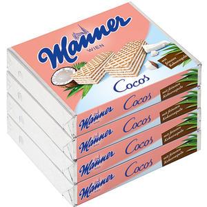 Manner Schnitten Cocos, 4er Packung