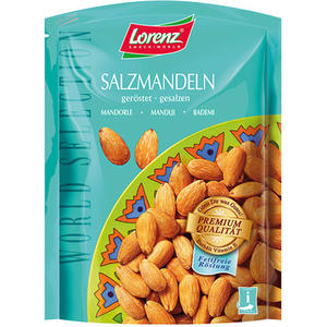 Lorenz World Selection Salzmandeln, geröstet/gesalzen