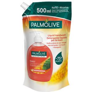 Palmolive Hygiene-Plus Family, vor Bakterien schützende Flüssigseife, Nachfüllbeutel (ohne Pumpe)