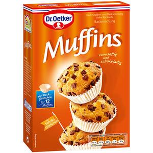 Dr. Oetker Muffins, Backmischung