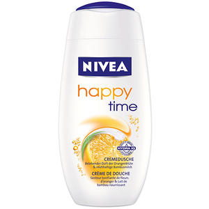 Nivea Care & Orange, Pflegedusche mit Bambusmilch & Orangenblüten-Duft