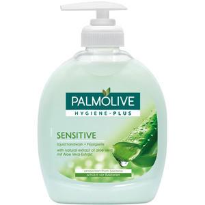 Palmolive Hygiene-Plus Sensitive, vor Bakterien schützende Flüssigseife mit Aloe Vera, ORIGINAL (Pumpe)