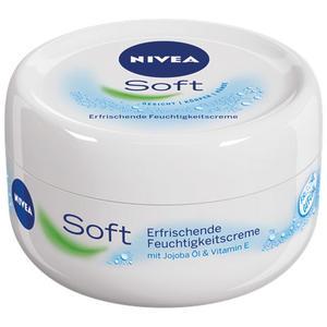 Nivea Soft Feuchtigkeitscreme, Universalpflege