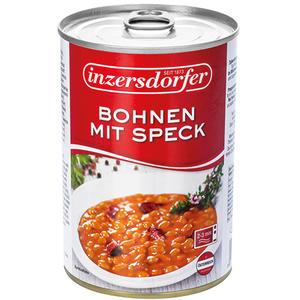 Inzersdorfer Bohnen mit Speck