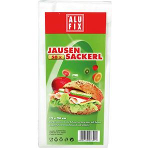 Alufix Jausensackerl, Papier, 12 x 26 cm