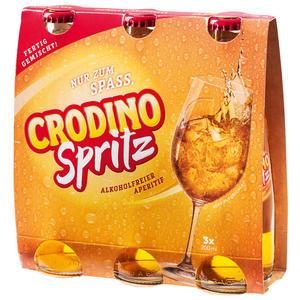 Crodino Spritz Aperitiv, fix & fertig gemischt, alkoholfrei
