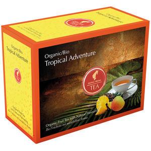 Julius Meinl Bio Tropical Adventure Big Bag (1 Beutel für ca. 1 lt. Wasser), Früchtetee, Teebeutel im Kuvert