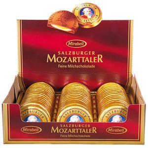 Mirabell Salzburger Mozarttaler, 48 Stück, Display-Karton