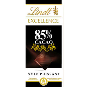 Lindt Excellence 85 % Cacao Noir