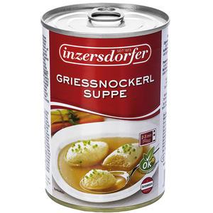 Inzersdorfer Griessnockerlsuppe