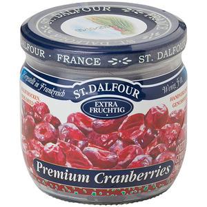 St. Dalfour Premium Cranberries, halbtrocken