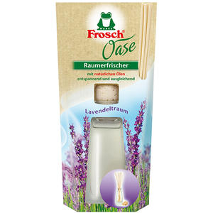 Frosch Oase Raumerfrischer Lavendeltraum, ORIGINAL (Duftflasche)